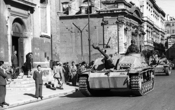 Italien, Rom, Sturmgeschütze der Waffen-SS