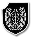 """Emblema de la 16ª División SS Panzergrenadier """"Reichsführer""""."""