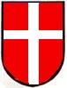 """Emblema del Cuerpo SS Libre Danés """"Frikorps Danmark""""."""