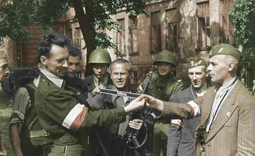 Resultado de imagen para Fotos de el Alzamiento de Varsovia