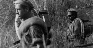 Soldados bolivianos en la Guerra del Chaco.
