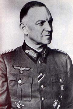 General Oskar Ritter Von Niedermayer en la Segunda Guerra Mundial.