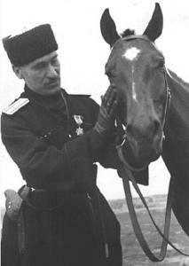 General georgiano Shalva Maglakelidze en la Segunda Guerra Mundial.