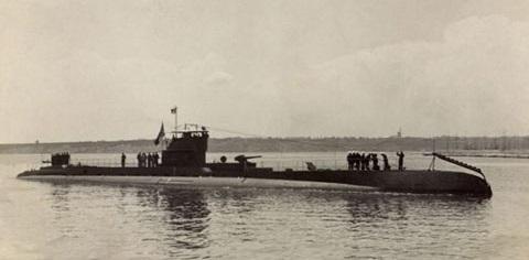 Submarino rumano Delfinul.
